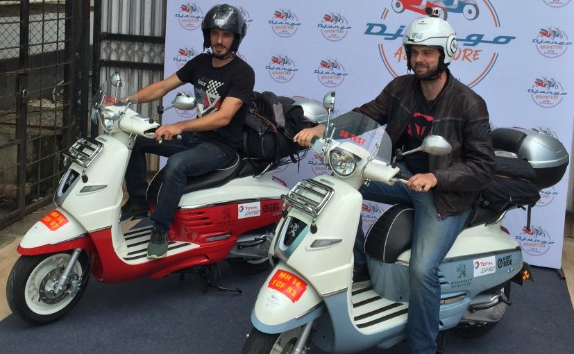 125 Scooters of Peugeot Django will Ride Across India