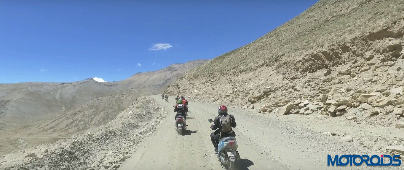 A Chennai Girl Rides Her Scooty To The Himalayas And Conquers Her Childhood Dream