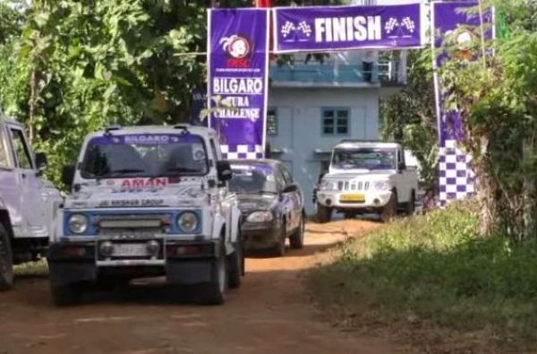 To Promote Tourism, Motor Sport Event Was Held In Meghalaya