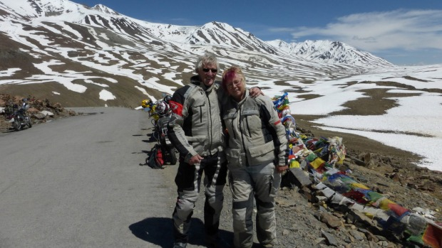 At 62, a Nelson Woman Adventures On The World�s Most Challenging Road With Her Motor Bike