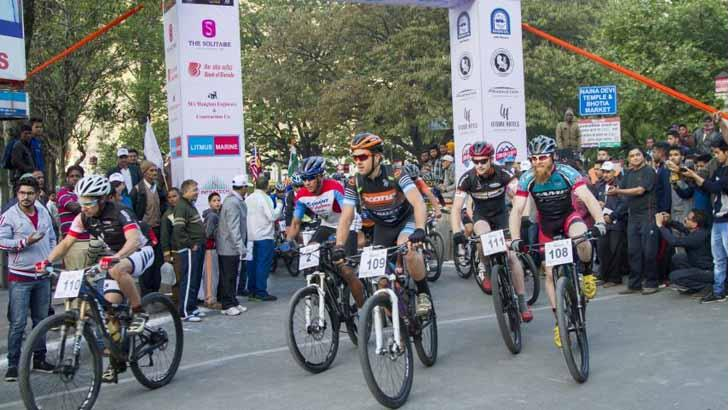 Mountain Biking Event Has Been Organized Amidst The Picturesque Landscapes Of Uttarakhand on 8th of April