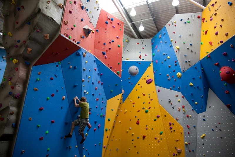 An Interactive Wall Climbing Course Has Been Introduced In Thane To Emphasize On Physical Activities