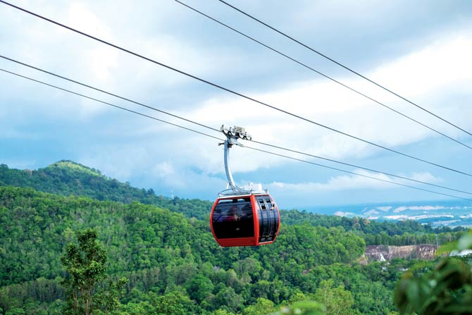 India�s First Largest Ropeway Will Be In Mumbai
