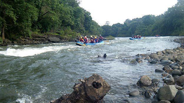 On Arrival Of Monsoon Season, Goa Starts Rafting On Mhadei River