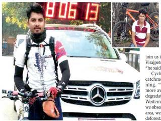 Duo Will Cycle 270 Kms To Raise Awareness For Cauvery