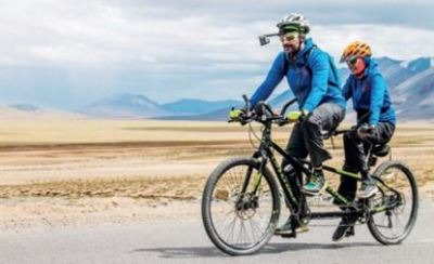 A Visually-Impaired Teen Conquers Cycling Expedition From Manali To Khardung La