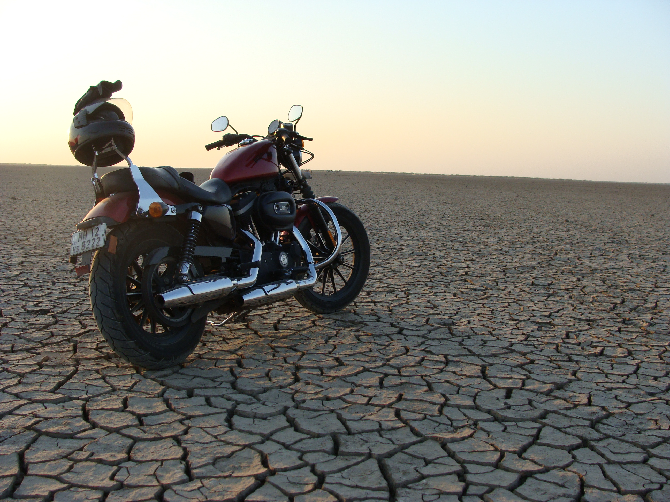 9. Motorbiking in Kutch