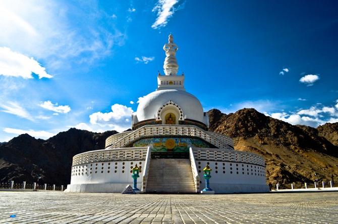 1 shanti stupa