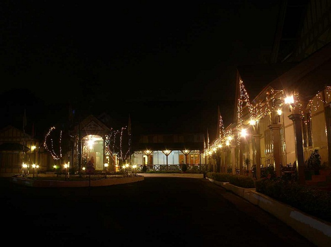 4 a decorated society for christmas in shillong