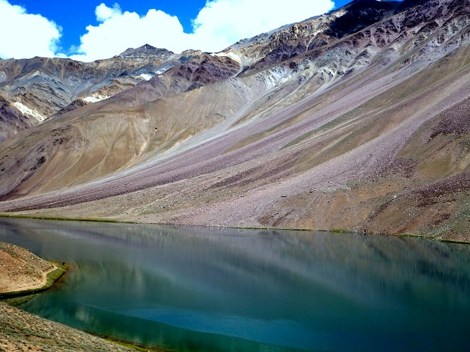 crater lake in india