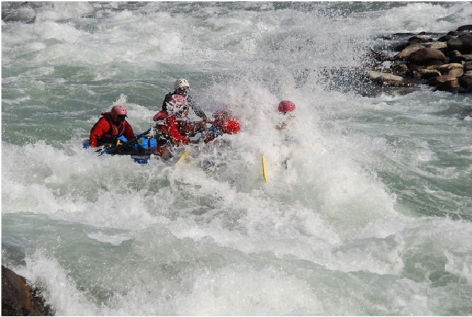 Brahmaputra River Rafting Expedition