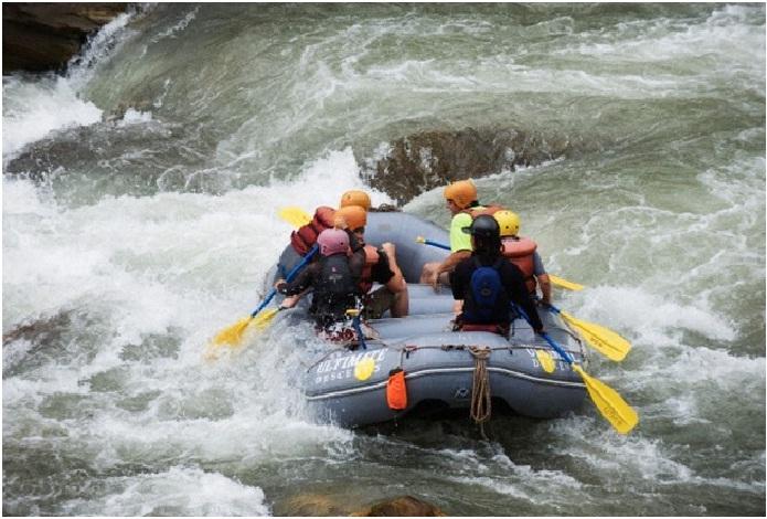 Rafting in Bhalukpong, Arunachal Pradesh