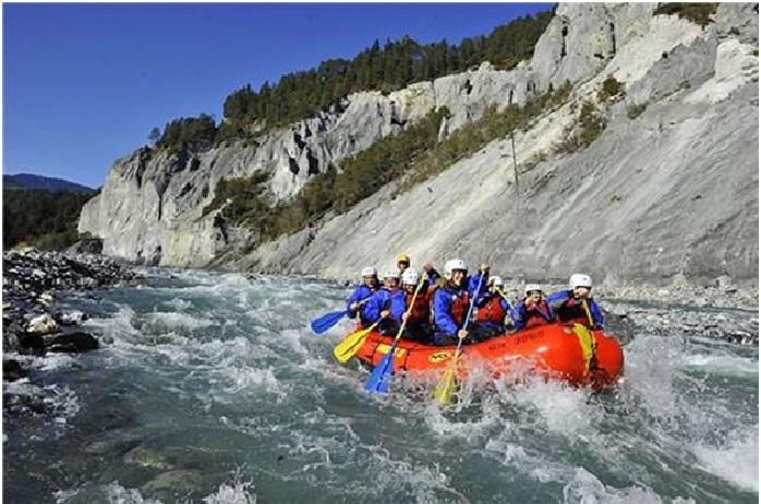 Rafting in Keylong, Himachal Pradesh