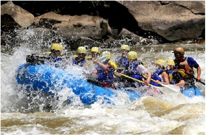 Rafting in Tezu, Arunachal Pradesh