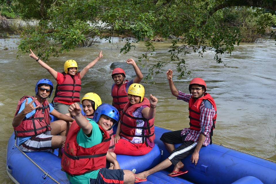 water rafting at tadiandamol