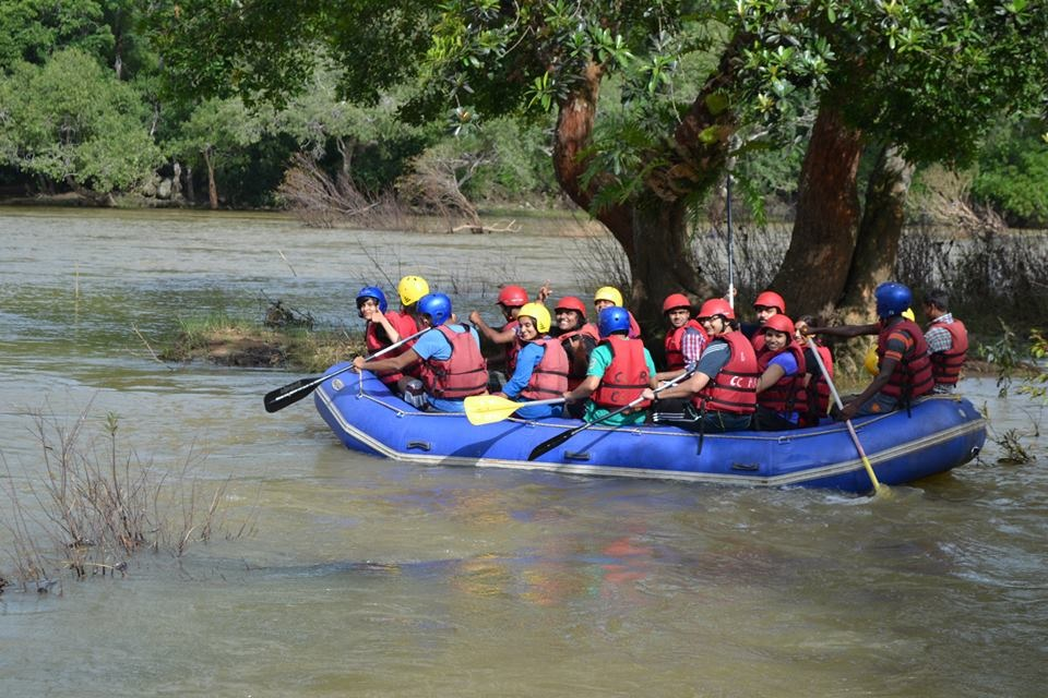 Rafting at Tadiandamol