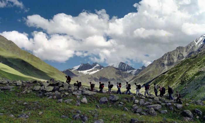 Trekking at India