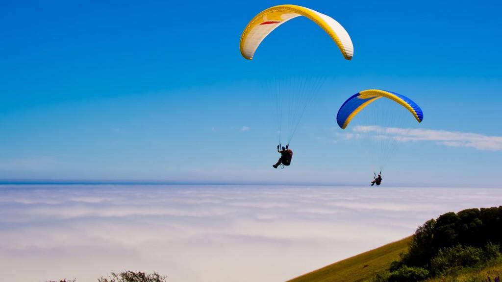 Paragliding in Nainital