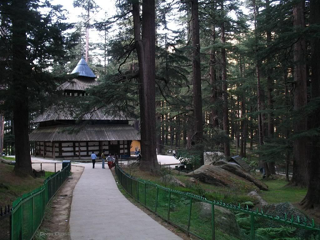 Hadimba-Devi Temple Manali Himachal
