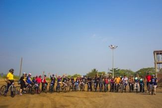 Outdoor Cycling Ride to Alibaug
