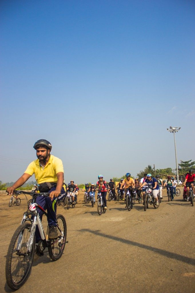 Cycling Ride To Alibaug