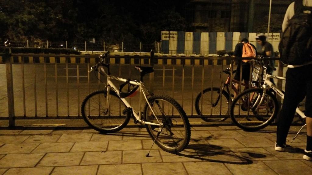 Mumbai Coastline Cycling