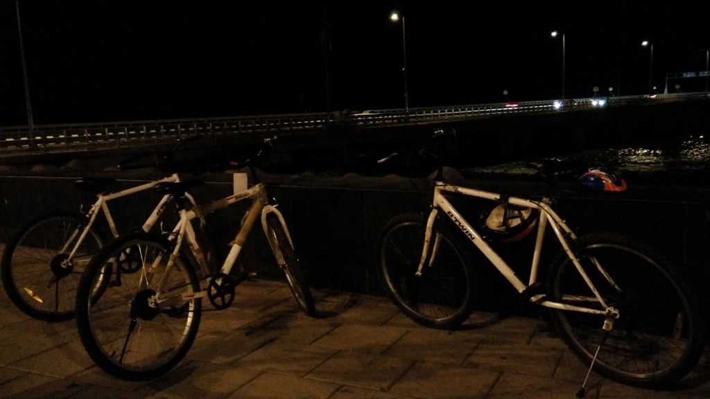 Midnight Cycling Riding