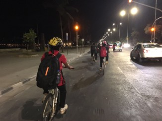 Mumbai Midnight Cycling