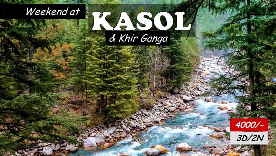 Kasol Khir Ganga Trekking