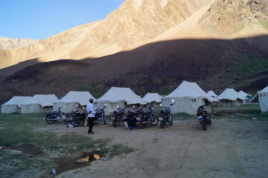 Sarchu campsite