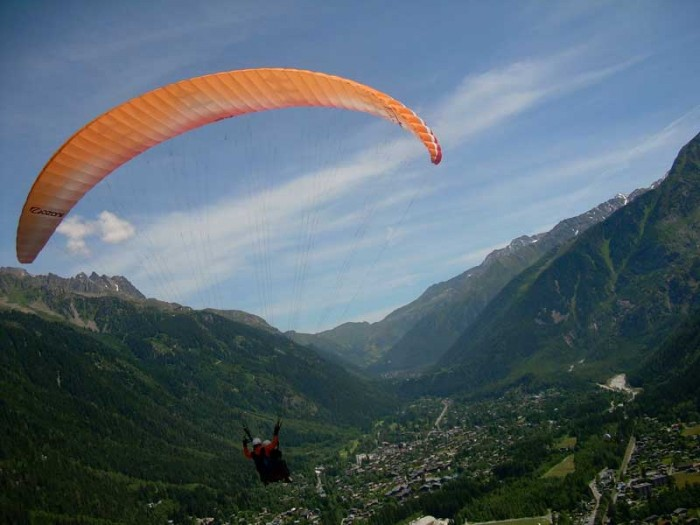 Paragliding in Uttarakhand