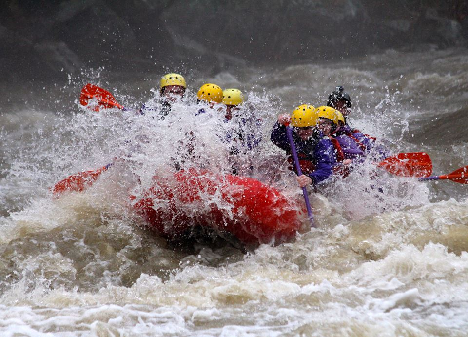 Rafting and Beach Camping in Rishikesh