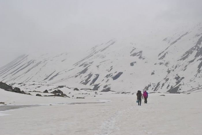 Vasuki Taal Meru Glacier