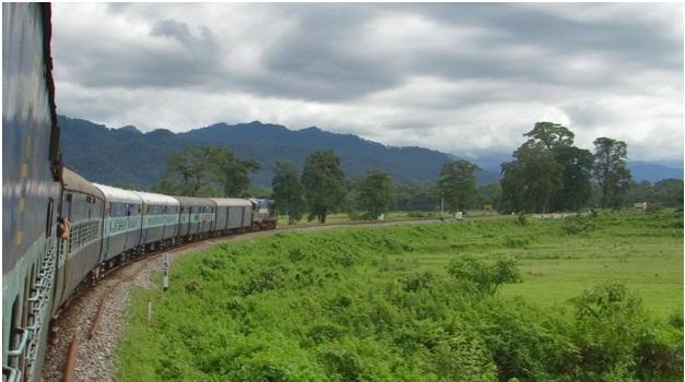 Indian Railways travels