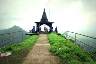 Trek to Vikatgad Fort