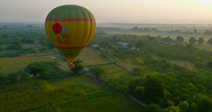 hot air balloon neemarana