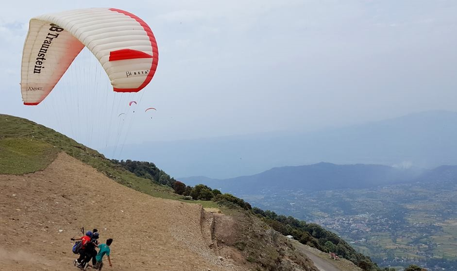 Paragliding In Billing