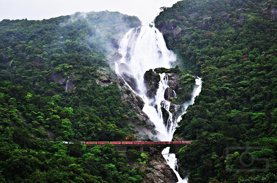 Dudhsagar Waterfall  2