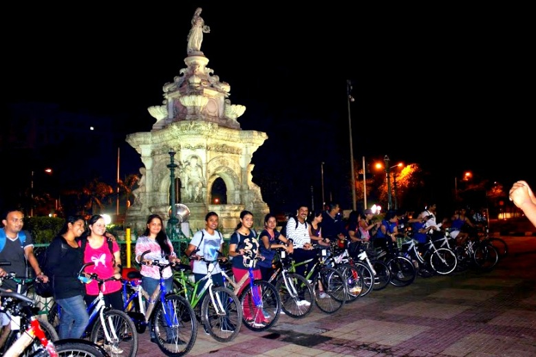 Mumbai Midnight Cycling Heritage
