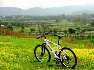 Cycling in Mumbai