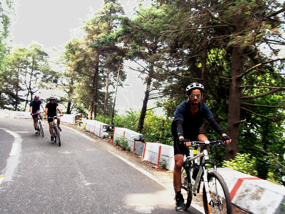 Cycling in Dehradun