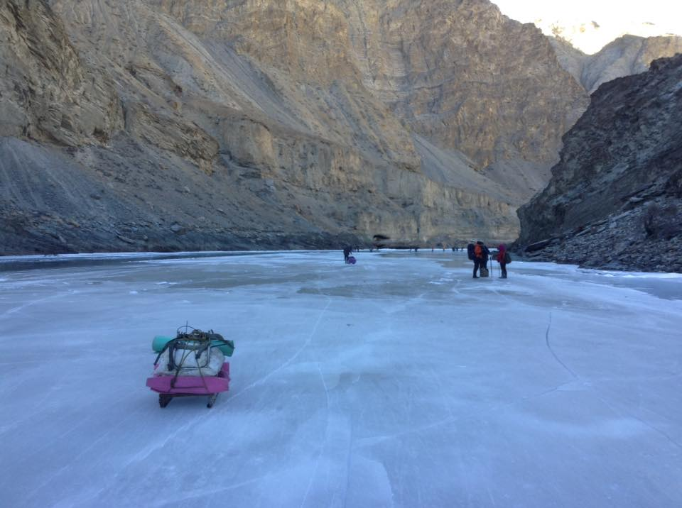 Chadar Frozen River Trek