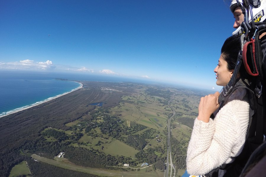 Ashwini Ponnappa Skydiving