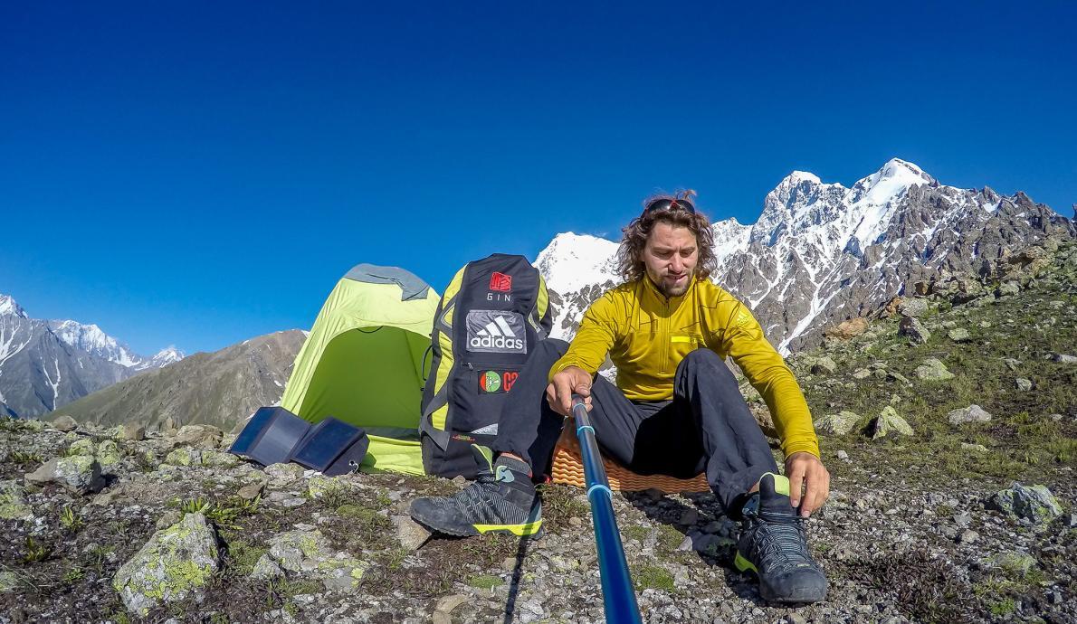Paraglider Antoine Girard