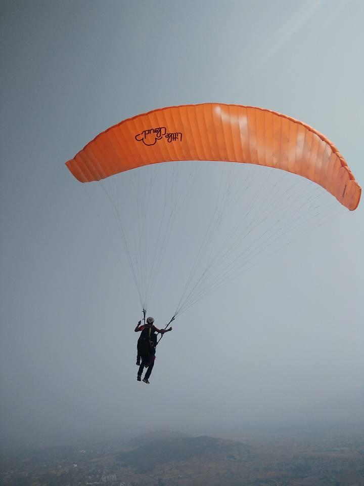 Paragliding in Kamshet s