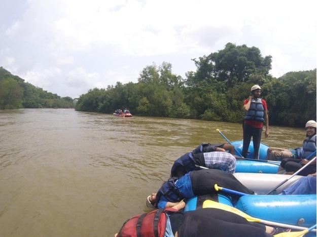 Rafting in Kundalika River
