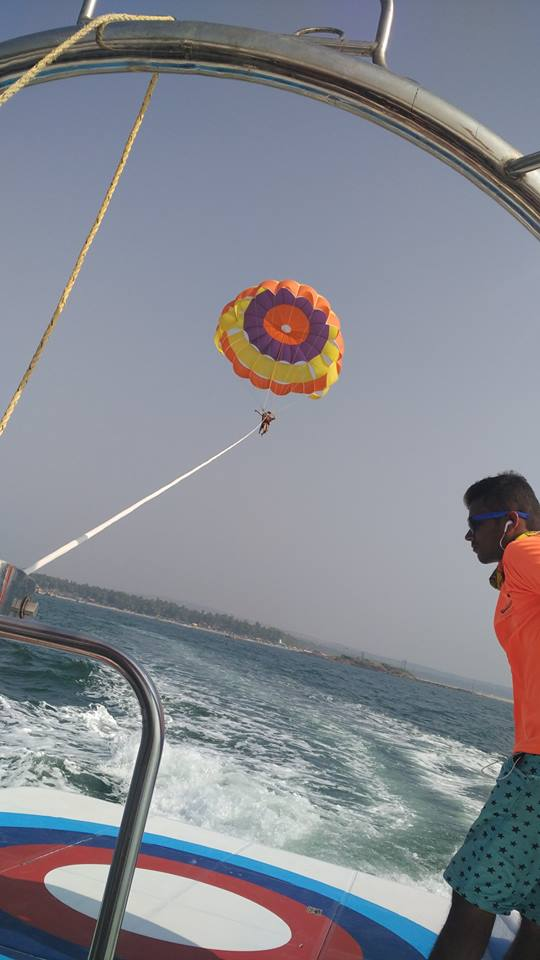 Parasailing in India