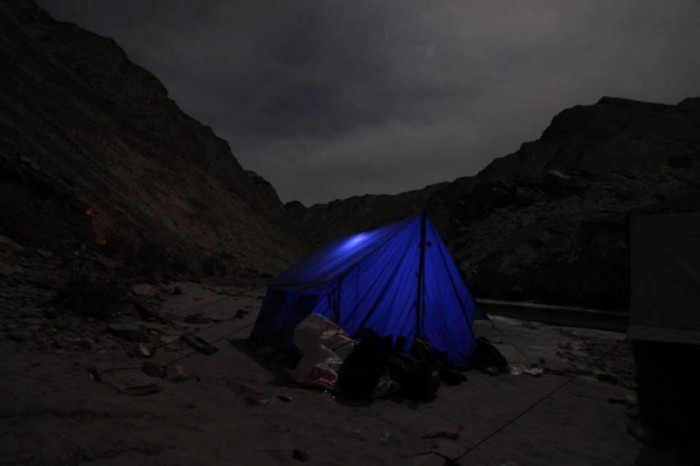 Camping At Chadar