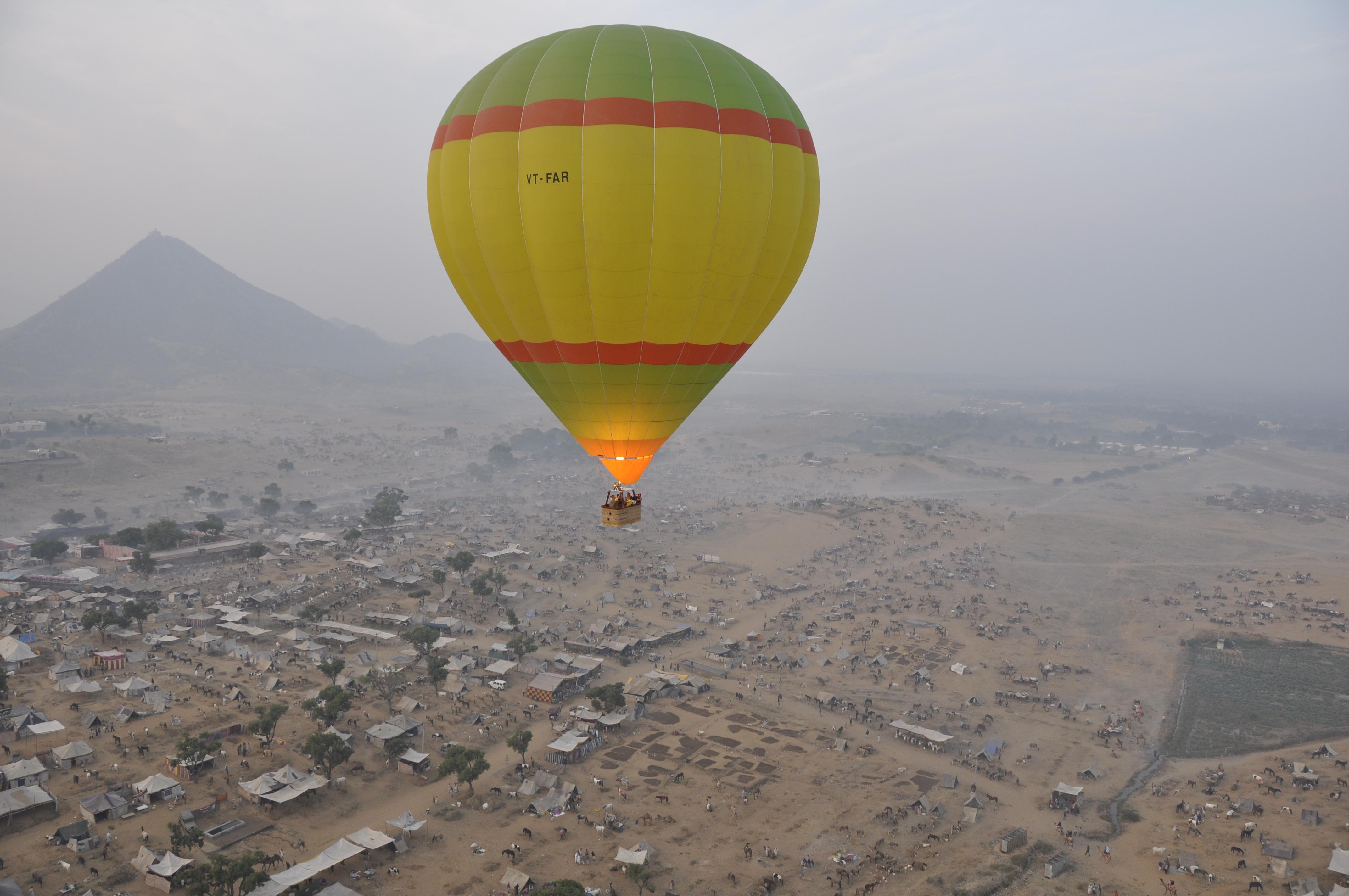Hot Air Balloon Ride Pushkar