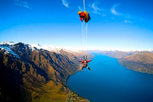Skydiving in New Zealand with Nzone Queenstown